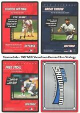 2002 MLB Showdown Pennant Run Strategy Baseball Sets ** Pick Your Team Set **