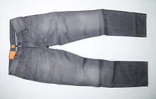 NEW - Hugo Boss Orange 63 - Denim Grey - Slim Straight Fit - Men's Jeans
