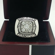1972 Boston Bruins Stanley Cup Championship Solid Copper Ring 8-14Size+Box