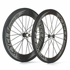 VCYCLE Nopea6088 Front 60mm Rear 88mm Clincher Road Bike Carbon Wheelset 700C