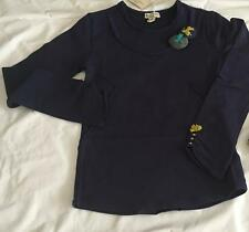 ELIANE ET LENA Girls 2, 3, 4, 5 & 6yrs NAVY PEPETTE TEE SHIRT/TOP - NWT