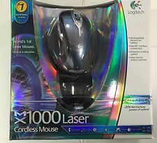Brand New Sealed Logitech MX1000 Laser Cordless Rechargeable Mouse