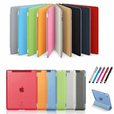 Ultra Thin Magnetic Smart Case Cover + Back Case For New iPad 2 iPad 3 4