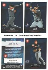 2011 Topps Town ToppsTown Baseball Team Sets ** Pick Your Team Set **