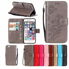 Luxury PU Leather Magnetic Flip Stand Card Slot Wallet Case Cover For Samsung