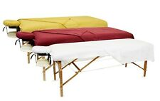 Massage Table Flannel Sheet Set 3-Pc