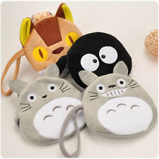 My Neighbor Totoro Soft Plush Wallet Cat Bus Hand bag Purse