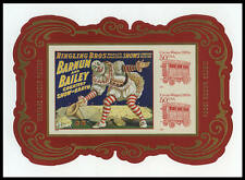 US #4905c $2 Circus Posters imperf Souvenir Sheet VF NH MNH from press sheet