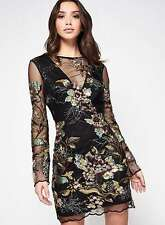 MISS SELFRIDGE AW16 *PREMIUM Embellished Mesh Dress* SIZE_UK6_8_10_12_14_16