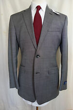NWT Brooks Brothers 1818 Milano Gray Birdseye Suit MSRP $1298 41R