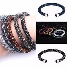 Sexy Fashion Stardust with Swarovski Element Crystal Cuff Open Bangle Bracelet