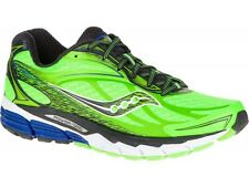 Saucony Ride 8 Mens Running Shoes S20273-5 - Green - Trainers Sneakers