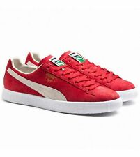 Puma Clyde Barbados Suede Classic Red Sneakers Trainers