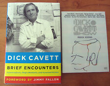 Dick Cavett Show Rock Icons DVD + Brief Encounters Book By Dick Cavett