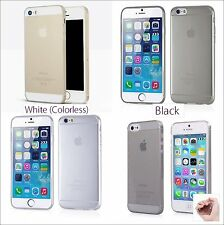 0.2 ULTRA THIN CLEAR Rubber Silicone TPU Soft Rugged Back Cover Case For iPhone