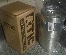 New in RETAIL BOX a 30 oz. RTIC Tumbler Cooler Cold & Hot Drinks Travel Mug Cup