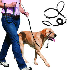 No Pull Nylon Dog Muzzles Head Collar Gentle Halter Leash for Small Large Dogs