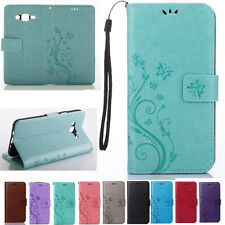 Flip Leather Wallet Cards Holder Stand Case Cover For Samaung Galaxy J7 J700