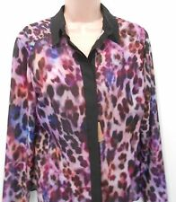 Per Una Speziale Italian Material Long Sleeve Blouse (NEW) Sizes 10, 18 or 20