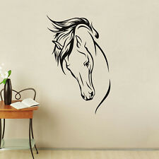 Western Horse Wall Sticker PVC Decal Animal Mural Removable Home Room Decor Gift