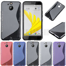 Slim GEL TPU Rubber Case Soft Protective Bumper Cover Skin For HTC Bolt/10 Evo