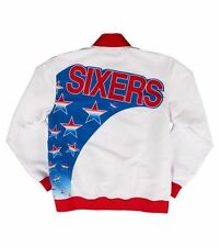 Authentic Warm Up PHILADELPHIA SIXERS 76ers 1993-1994 Mitchell & Ness Jacket