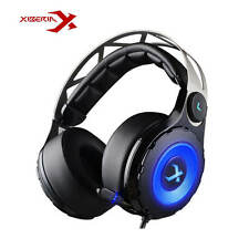XIBERIA T18 Gaming Headsts with Retractable Microphone Virtual Surrounded Sound