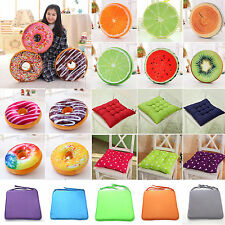 Donut Fruit Cushion Round/Square Plush Pillow Case Cover Sofa Mat Seat Chair Pad