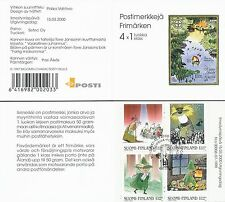 "Finland 2000 Used Booklet - Moomin Troll ""Midsummer Madness"" - Official Finland"