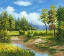 Art Oil Painting Modern Nature Scenery Deco Picture Print On Canvas (No Frame)