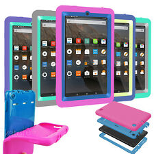 """Shockproof Hard Rubber Case Cover For Amazon 2015 Kindle Fire 7 inch 7""""  5th Gen"""