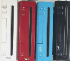 NINTENDO Wii Console Only - (White, Black, Red, Blue) - Tested & Works