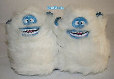 Rudolph Reindeer BUMBLE Abominable Snowman ADULT PLUSH Slippers HOUSE SHOES S