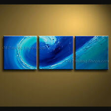 Hand Painted Stunning Contemporary Wall Art Seascape Painting Inner Framed