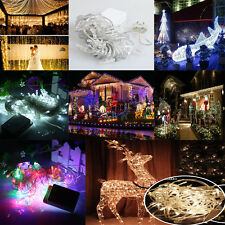 10M/20M 100/200 LED Fairy Christmas Xmas Tree String Lights Party Waterproof Bar