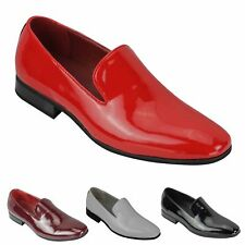 New Mens Loafers Patent Leather Smart Casual Slip on Driving Shoes UK Size 6-12
