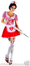 Adult Victorian Nurse Costume Womens Ladies New Florence Nightingale Fancy Dress
