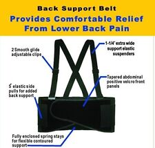 Plus Size Sized Weight Lifters Waist Lifting Safety Work Support Back Brace Belt