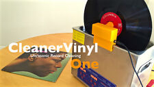 CleanerVinyl One Attachment: Ultrasonic Cleaning of One Record at a Time