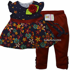 NWT Carters Baby Girls Shirt legging Headband Outfits Size 3 6 9 12 18 24 months