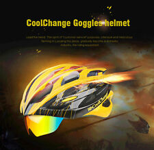 Cycling Glasses Helmet Adjustable Unisex Adult Road Bike Bicycle Carbon Safety