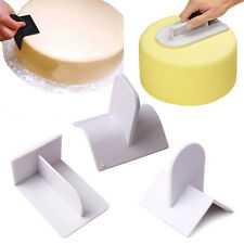 Cake Decorating edge Smoother Paddle Tool Sugarcraft Icing Fondant Polisher AA+