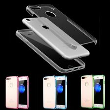 Luxury Ultra-thin Shockproof Armor Clear Back Case Cover for iPhone 7/7 Plus