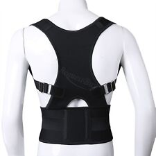 Adjustable Back Brace Posture Corrector Back Support Shoulder Belt Men/ Women