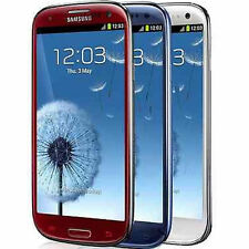 Samsung Galaxy S III SGH-I747 -16GB AT&T Smartphone-WHITE-BLUE-RED