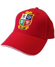 British and Irish Lions Rugby Kids' Core Baseball Cap | 2017 Tour | Red