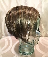 Rene of Paris Short Zia Apricot Frost Brown Hair Wig