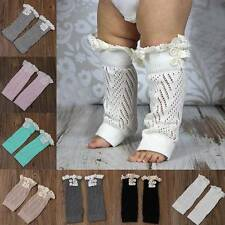 Baby Toddler Girl Boy Leggings Warm Soft Long Socks Leg Kids Knee Pad Legs Boots