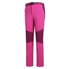 NEW Women's Waterproof Soft Shell Pants Ladies Outdoor Climbing Hiking Trousers
