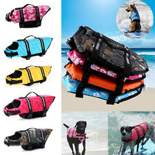 Pet Dog Life Jacket Safety Saver Vest Clothes Reflective Water Pool Preserver JS